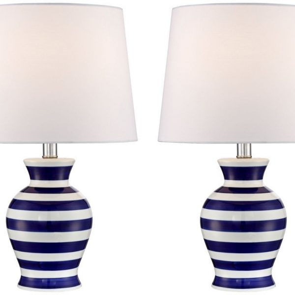 8-camden-dark-blue-and-white-striped-nautical-lamp-600x600 Best Nautical Themed Lamps