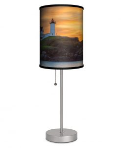 Maine Nubble Lighthouse Table Lamp