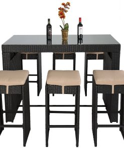 8b-best-choice-products-wicker-barstool-dining-set-247x300 The Best Wicker Dining Sets You Can Buy