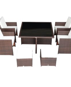 9-outsunny-9pc-outdoor-rattan-wicker-dining-set-247x300 The Best Wicker Dining Sets You Can Buy