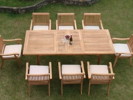 9-rectangle-9pc-grade-a-teak-dining-set-450x338 The Ultimate Guide to Outdoor Teak Furniture
