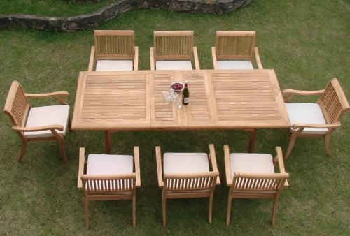 9-rectangle-9pc-grade-a-teak-dining-set The Ultimate Guide to Outdoor Teak Furniture