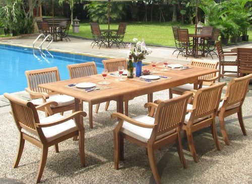9b-rectangle-9pc-grade-a-teak-dining-set The Ultimate Guide to Outdoor Teak Furniture