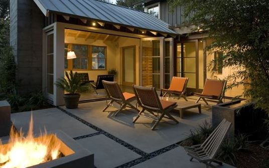 Custom-Agrarian-Style-Residence-by-Arcanum-Architecture 51 Teak Outdoor Furniture Ideas