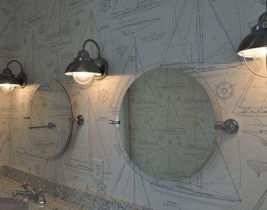 JacksonBuilt-Custom-Homes 101 Indoor Nautical Style Lighting Ideas