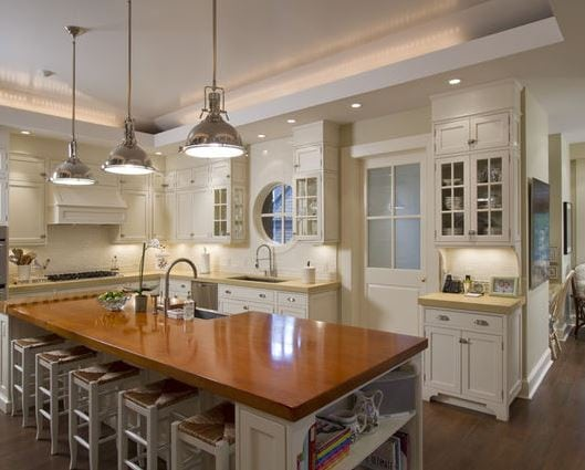 Kitchen-by-Gallin-Beeler-Design-Studio 101 Indoor Nautical Style Lighting Ideas