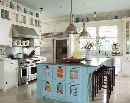 Lets-Eat-Kitchens-by-iMatch-Designers 101 Indoor Nautical Style Lighting Ideas