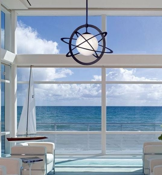 101 Indoor Nautical Style Lighting Ideas - Beachfront Decor