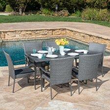 Marissa-Outdoor-7-Piece-Wicker-Dining-Set Wicker Patio Dining Sets