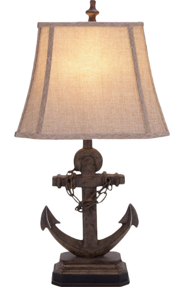 Massachusetts-Bay-Anchor-Lamp Nautical Themed Lamps