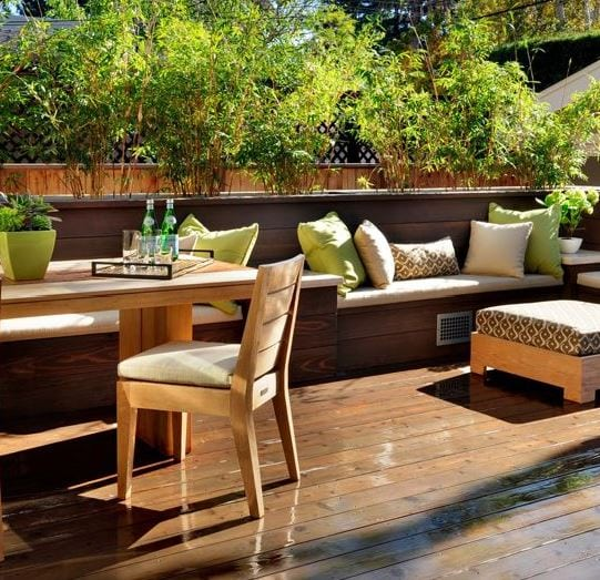 Modern-Classic-by-Sullivan-Design-Studio 51 Teak Outdoor Furniture Ideas