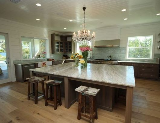 Nautical-Kitchen-Interior-by-Armistead-Design-Drafting 101 Indoor Nautical Style Lighting Ideas