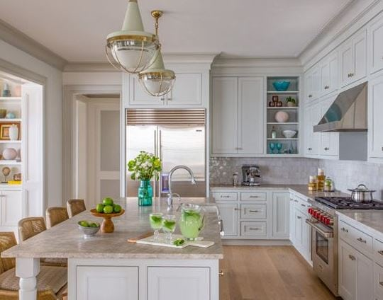 New-Seabury-Beach-House-Kitchen-and-Baths-by-Main-Street-Kitchens-at-Botellos 101 Indoor Nautical Style Lighting Ideas
