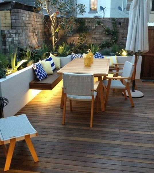 Newtown-by-On-Common-Ground-Landscapes 51 Teak Outdoor Furniture Ideas