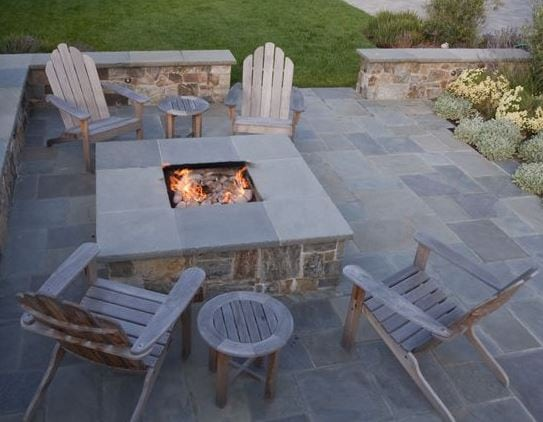 Outdoor-Family-Room-by-Shades-of-Green-Landscape-Architecture 51 Teak Outdoor Furniture Ideas