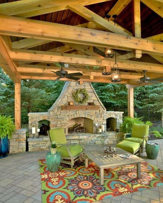 Outdoor-Spaces-by-Albrecht-Wood-Interiors 51 Teak Outdoor Furniture Ideas
