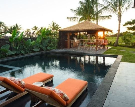 Pool-Lounge-by-Puuwai-Design-and-Construction 51 Teak Outdoor Furniture Ideas