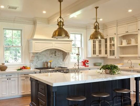 Santa-Barbara-Design-House-and-Gardens-by-Showcase-Kitchens-and-Baths 101 Indoor Nautical Style Lighting Ideas