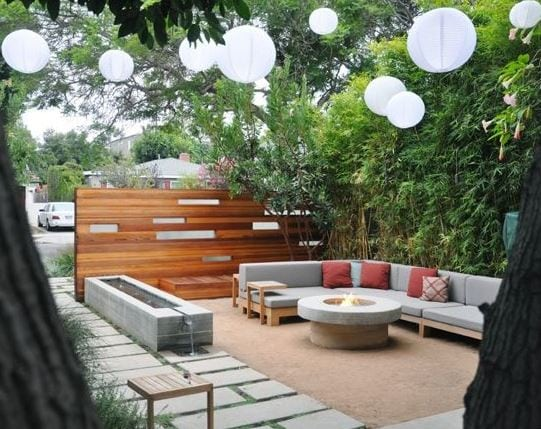Ten-Residence-by-MTLA-Mark-Tessier-Landscape-Architecture 51 Teak Outdoor Furniture Ideas