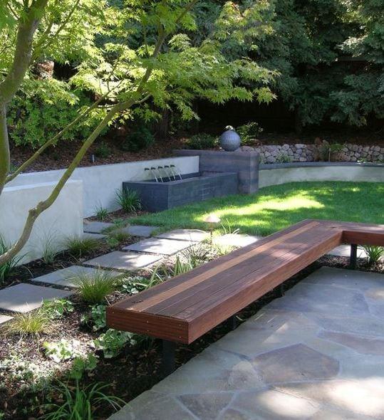 Teplin-by-Huettl-Landscape-Architecture 51 Teak Outdoor Furniture Ideas