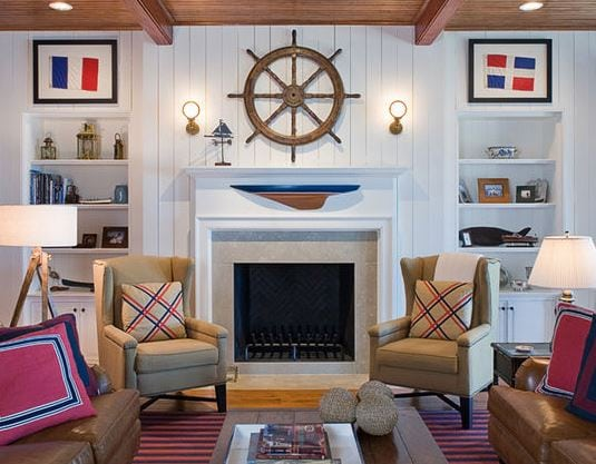 William-T-Baker-Houses-2-by-William-T-Baker 101 Indoor Nautical Style Lighting Ideas