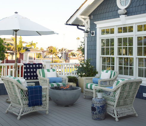 27 Beautiful Beach Inspired Patio Designs