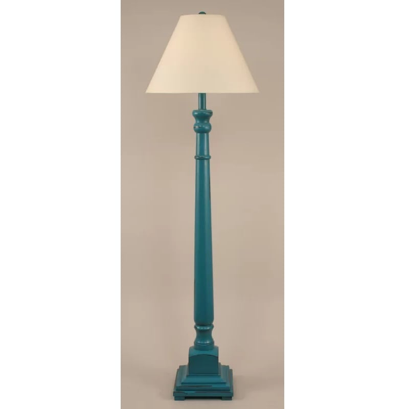 blue-coastal-floor-lamp Coastal And Beach Floor Lamps