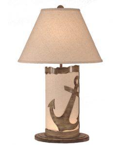 Coastal Living Anchor Scene Lamp