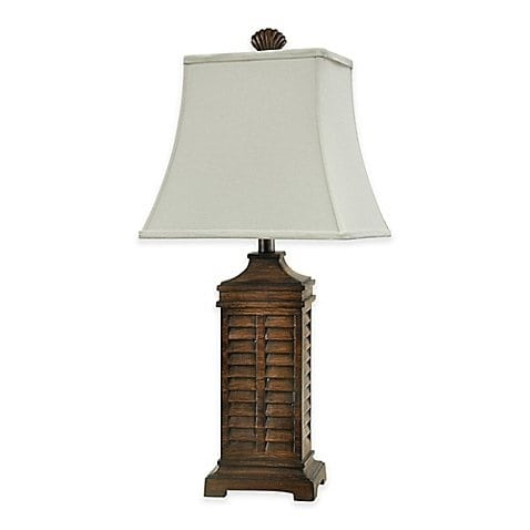 coastal-shutter-table-lamp-in-teak Coastal Themed Lamps