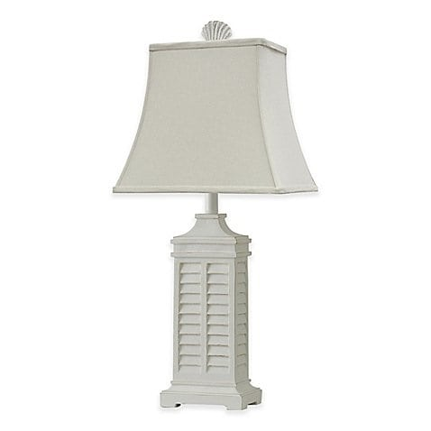 coastal-shutter-table-lamp-white Coastal Themed Lamps