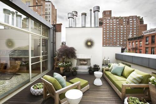 contemporary-deck-1 51 Teak Outdoor Furniture Ideas