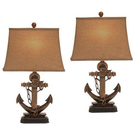 ec-world-imports-antique-anchor-chain-lamp-450x450 Nautical Anchor Decor