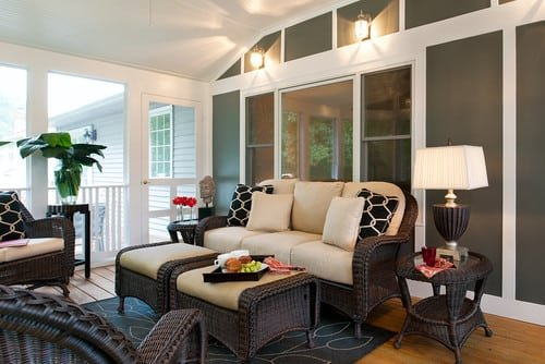 eclectic-porch-wicker-patio-furniture-sets Best Wicker Patio Furniture Sets