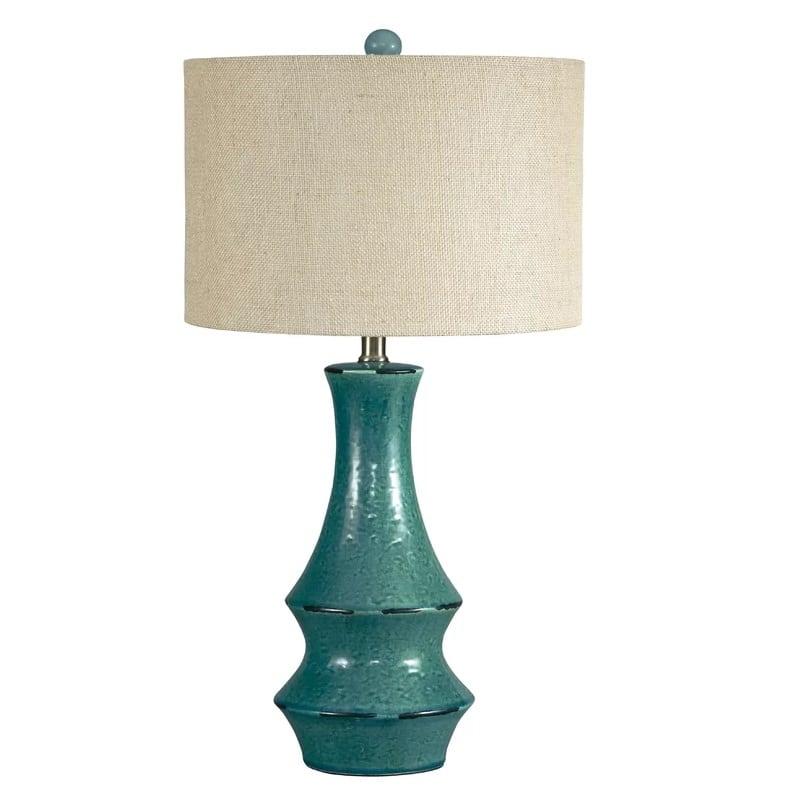 germain-table-lamp-blue-2 Coastal Themed Lamps