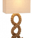 hamptons nautical rope themed lamp