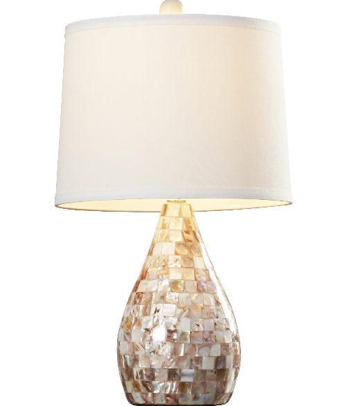 lauralie-mosaic-table-lamp Nautical Themed Lamps