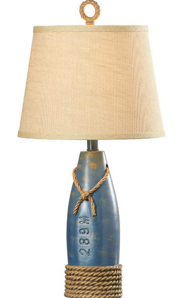 nautical table lamps fisherman's milford rope nautical table lamp