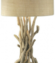 modern driftwood nautical lamp