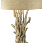 modern driftwood nautical lamp