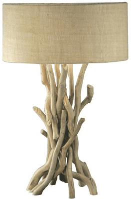 modern-drift-wood-nautical-lamp Nautical Themed Lamps