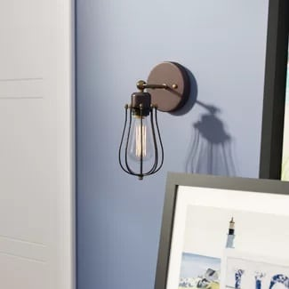 nautical-wall-sconce 101 Indoor Nautical Style Lighting Ideas