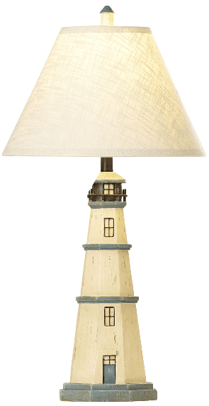 Ocean Village Light House Table Lamp Nautical Themed Lamps