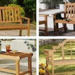 15 Beautiful Examples of Outdoor Teak Benches
