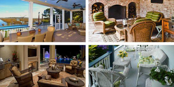 outdoor wicker furniture designs