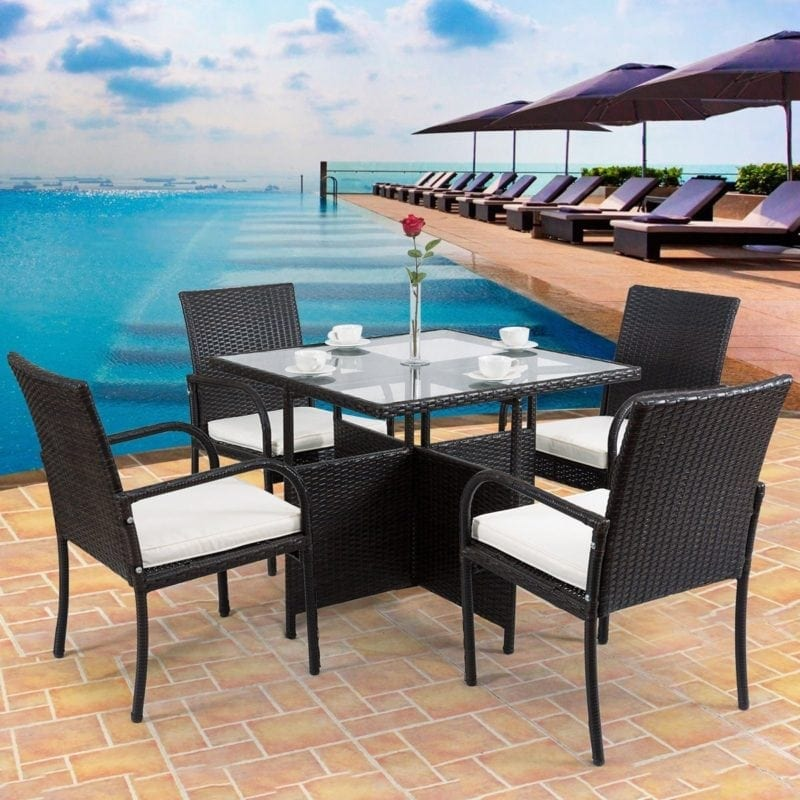 tangkula-5piece-patio-dining-wicker-rattan-set-with-cushion-800x800 Wicker Patio Dining Sets