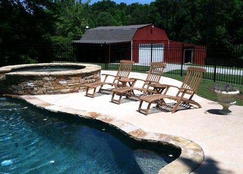 traditional-patio-1 51 Teak Outdoor Furniture Ideas
