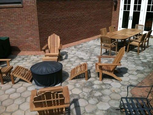 traditional-patio-4 51 Teak Outdoor Furniture Ideas