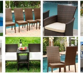 wicker-chairs-340x300 The Best Wicker Chaise Lounge Chairs You Can Buy