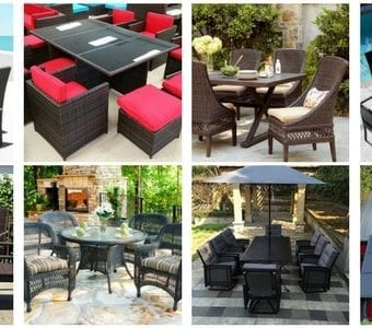 wicker-dining-sets-340x300 The Best Wicker Conversation Sets You Can Buy