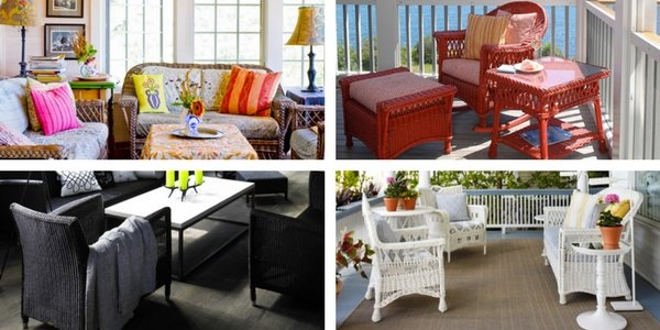 wicker furniture design inspirations